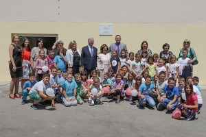 """The official help delivery for the school """"Ivo Andric"""" in Pranjani"""