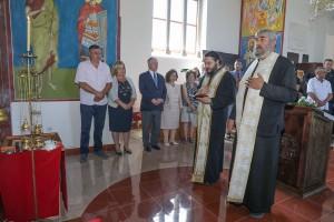 Литургија у цркви Светог вазнесења у Прањанима