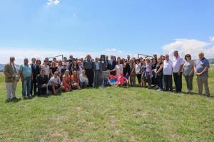 Polaganje venaca na Galovića polju