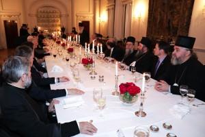 Večera na Belom dvoru u čast redovnog zasedanja Arhijerejskog sabora Srpske pravoslavne crkve