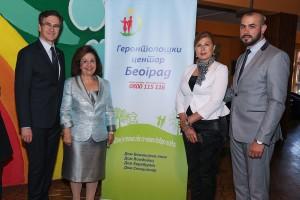 G-din Nenad Nerić, Princeza Katarina, g-đa Suzana Mišić i g-din Ivan Jezdić
