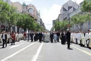 Spasovdan's procession