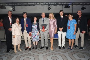 HRH Crown Princess Katherine with the organizers and spoke persons of SERBIS 2018 conference