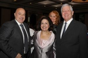 Dr. Vladimir Djukic, HRH Crown Princess Katherine, Dr. Vesna Garovic, HRH Crown Prince Alexander