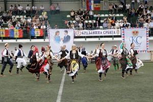 Kulturno umetnički program pred utakmicu