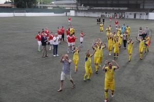 Играчи тимова Краљевина Србија и Краљевина Румунија