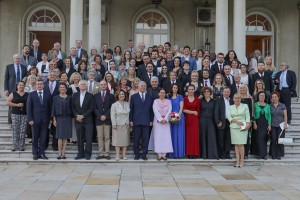 Гости са концерта Краљевских гудача Светог Ђорђа