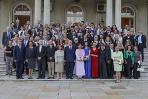 Gosti sa koncerta Kraljevskih gudača Svetog Đorđa