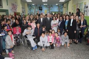 "Delivery of elevator, furniture and toys in school ""Veselin Nikolic"" in Krusevac"