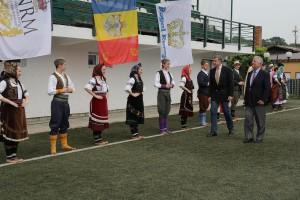 Nj.K.V. Princ Radu od Rumunije i Prestolonaslednik Aleksandar od Srbije