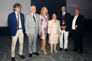 Nj.K.V. Princeza Katarina sa organizatorima i govornicima konferencije SERBIS 2018