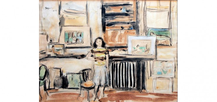 Girl in Interior