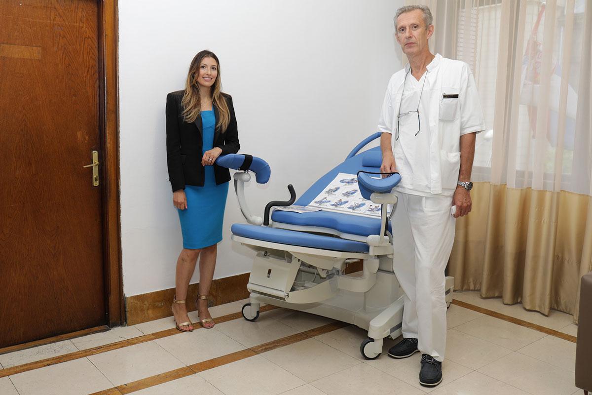 SERBIAN NEW YORK DOCTOR DID NOT FORGET HOMELAND: DR  BOJANA