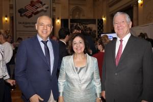 HE Prof. Zoran Radojicic, Belgrade Mayor and TRH Crown Princess Katherine and Crown Prince Alexander