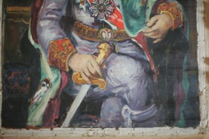 Portrait of King Peter II Karadjordjevic – detail