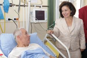 "Њ.К.В. Принцеза Катарина у посети болници ""Свети Сава"""