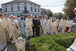 Their Royal Highnesses Crown Prince Alexander and Crown Princess Katherine attended the Holy Liturgy and procession in Topola