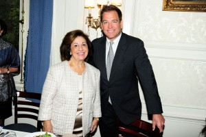 HRH Crown Princess Katherine and Mr. Michael Weatherly