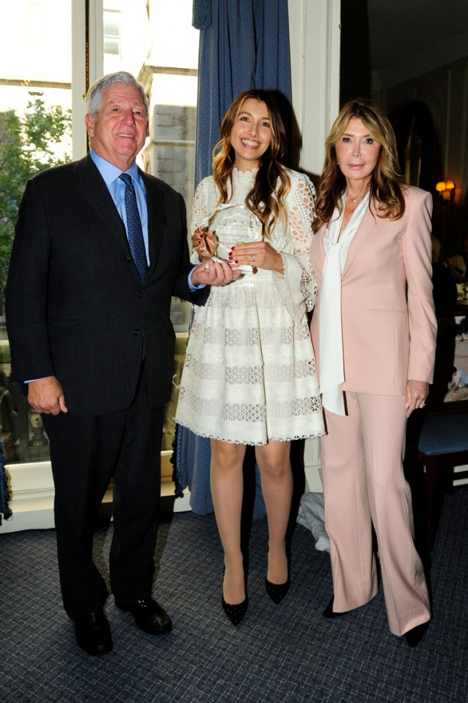 HRH Crown Prince Alexander, Dr. Bojana Jankovic Weatherly and Mrs. Cheri Kaufman