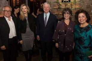 Mr. Andreas Typaldos, HE Ambassador Mrs. Maria Theofili, HRH Crown Prince Alexander, Mrs. Renee Typaldos and HRH Crown Princess Katherine