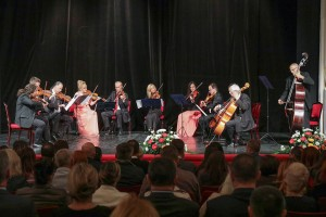 "Concert of the Royal Strings of St. George at the National Theater ""Tosa Jovanovic"" in Zrenjanin"