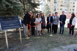 """The official opening of the playground at the home for children without parental care """"Jovan Jovanovic Zmaj"""""""