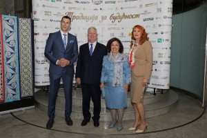 Mr. Radenko Topalović, TRH Crown Prince Alexander and Crown Princess Katherine and Mrs. Maruska Topalovic
