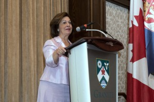 "HRH Crown Princess Katherine at the ""Step to the beat and help us defeat breast cancer"" event in Toronto"