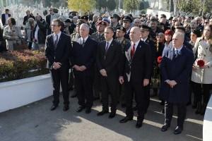 G-din Nenad Nerić, Nj.K.V. Prestolonaslednik Aleksandar, g-din Nebojša Stefanović, g-din Nenad Popović i g-din Goran Vesić