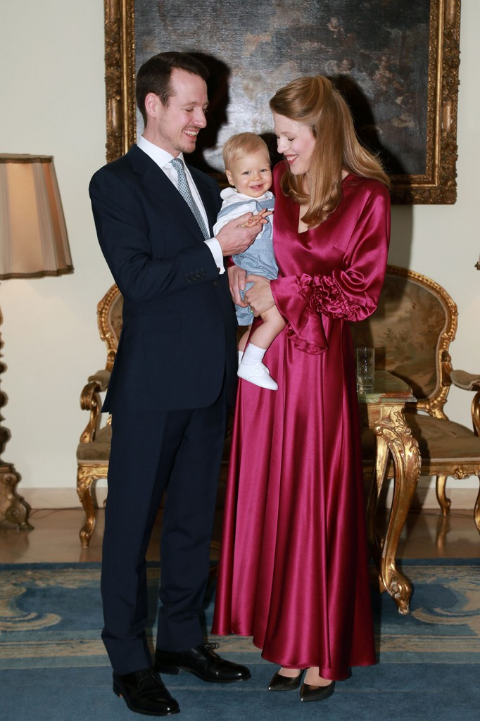 TRH Prince Philip, Prince Stefan and Princess Danica