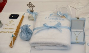 Christening gift for Prince Stefan from his grandparents TRH Crown Prince Alexander and Crown Princess Katherine