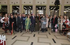 Opening of the Christmas charity Bazaar at Kombank Dvorana