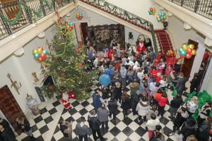 Christmas receptions at the White Palace