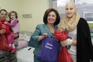 Божићна посета Принцезе Катарине београдским дечијим болницама