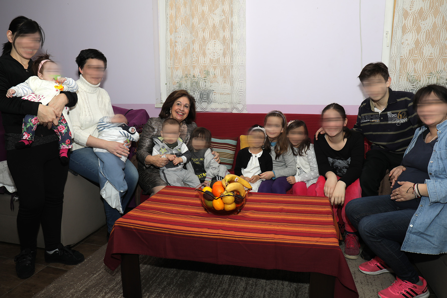 HRH Crown Princess Katherine's visit to the Safe House Belgrade