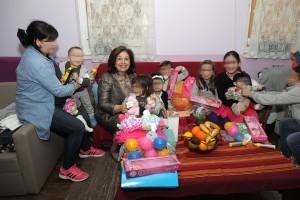 Poseta Princeze Katarine Sigurnoj kući Beograd