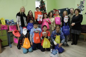 Crown Princess Katherine's New Year's visit to homes for children without parental care