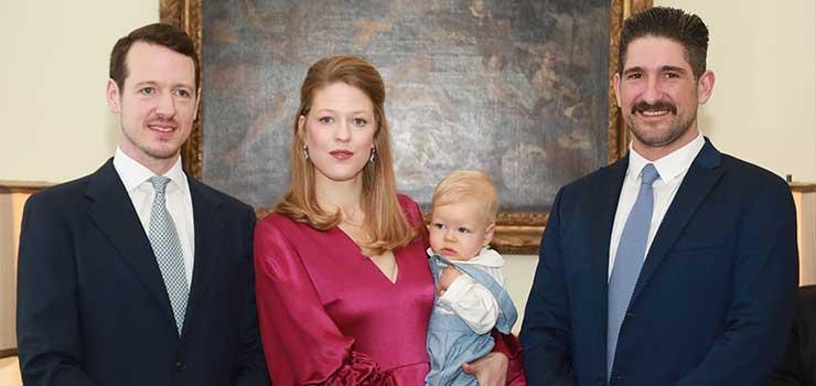 Њихова Краљевска Височанства Принц Филип, Принцеза Даница, Принц Стефан и Принц Александар