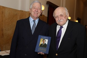 HRH Crown Prince Alexander and Prof. Dr. Nikola Moravcevic