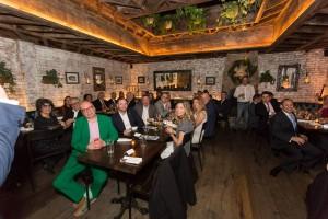 Lifeline New York Charity dinner in Merakia restaurant