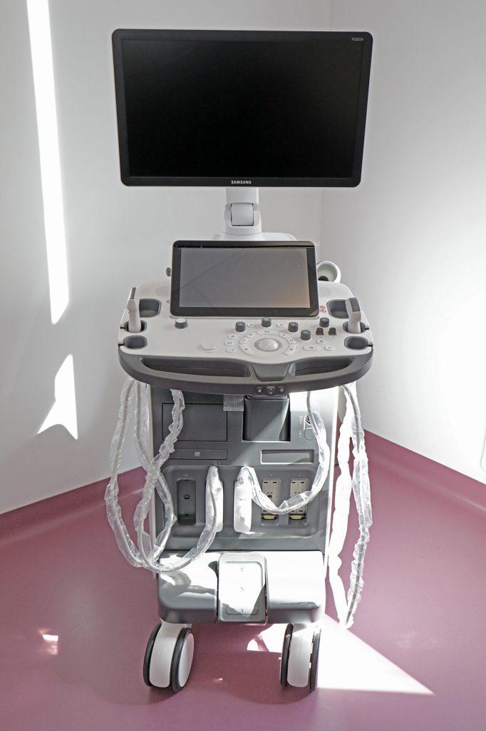 New ultrasound medical equipment
