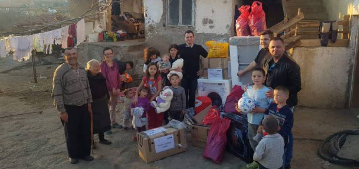 Aid for Savic family from Koretiste in Kosovo and Metohija