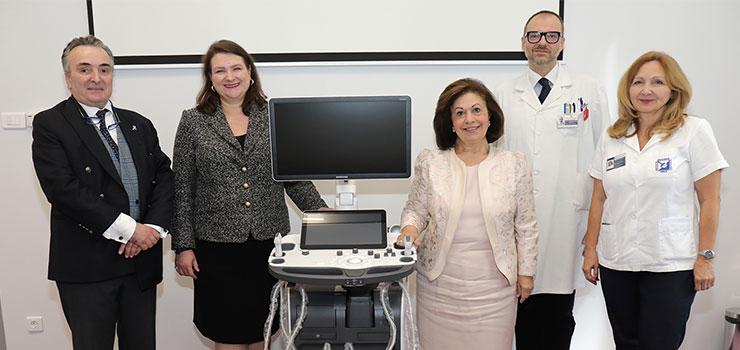 Prof. Radan Dzodic, HE Mrs. Kati Csaba, HRH Crown Princess Katherine, Dr. Mirjan Nadrljanski, Dr. Ana Jovicevic