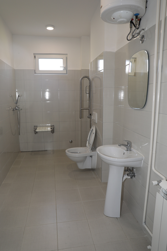 "New bathroom for the school ""Ivo Lola Ribar"" in Kraljevo"