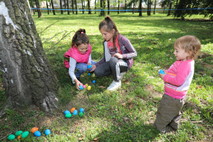 Egg hunting in the Royal park