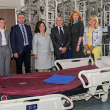 HRH Crown Princess Katherine at the General hospital in Cacak with their medical staff, Deputy Mayor of Cacak Mrs. Milica Dacic, Mayor of Cacak Mr. Milun Todorovic, director of hospital Dr. Radoslav Milosevic, Mrs. Maruska Topalovic and Mrs. Beatrice Grozdanic