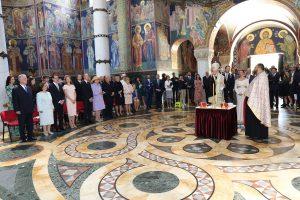 Wedding of HRH Prince Dusan and Valerie De Muzio