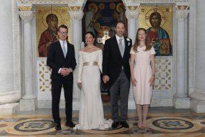 TRH Prince Philip, Princess Valerie, Prince Dushan and Princess Danica