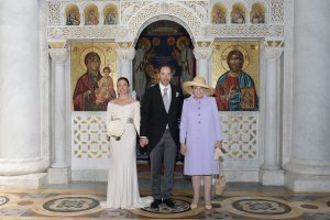 HRH Prince Dusan and Valerie De Muzio with Princess Barbara