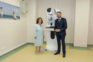 Crown Princess Katherine donates mammography workstation to the Clinical center in Nis